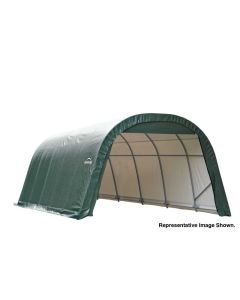 Shelter Logic 12x28x8 Round Top Garage 76632-42