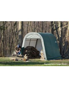 Shelter Logic 8x24x8 Round Top Shelter - 76903