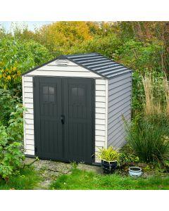 duramax 7x7 vinyl shed