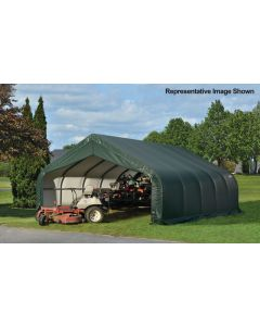 Shelter Logic 18x36x9 Peak Garage - 80012