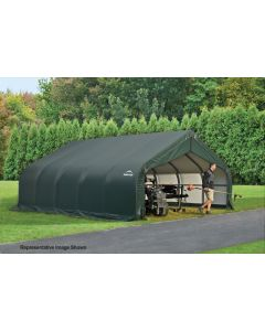 Shelter Logic 18x28x10 Peak Garage 80005-6