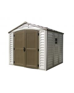 Duramax Duraplus 8x8 Vinyl Shed (with foundation floor kit)
