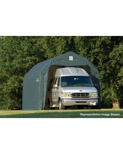 Shelter Logic 12x28x9 Barn Shelter 97253-4