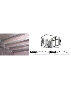 Arrow RBK6586 Roof Strengthening Kit - 6'x5' & 8'x6' sheds