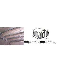 Arrow RBK10610 Roof Strengthening Kit - 10'x6', 10'x8', 10'x9' & 10'x10' sheds