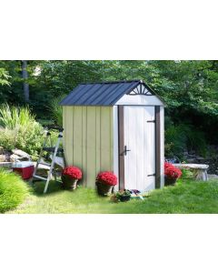 arrow designer series 4x6 steel shed