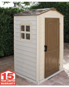 Duramax Shelter Pro 4x3 Vinyl Shed