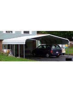 Rhino 22 x 24 x 12 Steel Carport