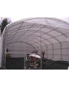 Rhino 40x60x18 Domed Truss Building