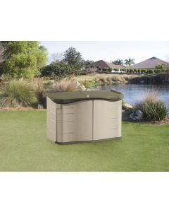 Rubbermaid Split Lid Shed