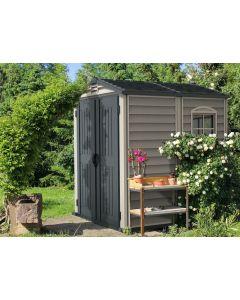 duramax storemate 6x6 vinyl shed