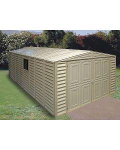 10x23.5 duramax vinyl garage - storageshedsdirect.com