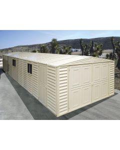 10x28 duramax vinyl garage