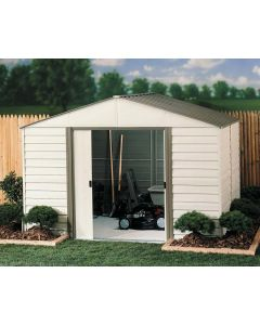 Arrow Milford 10'x12' Vinyl Coated Metal Shed