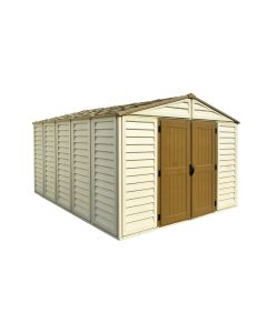 woodbridge plus 10x13 vinyl shed - storage sheds direct