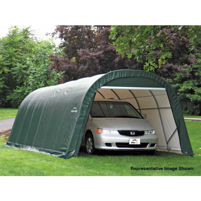 Shelter Logic 12x24x8 Round Top Garage 72332-42