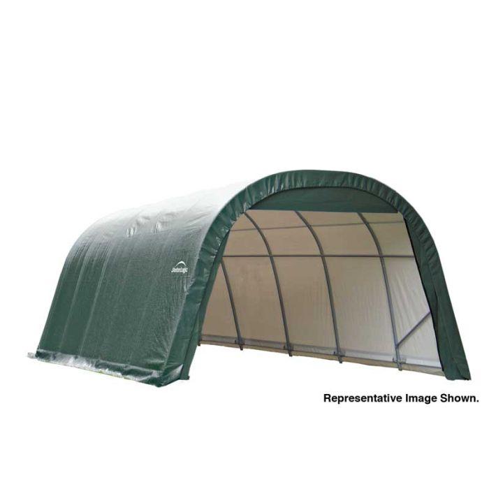 Shelter Logic 12x28x8 Round Top Garage 76632-42
