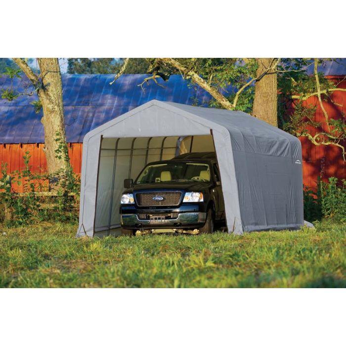 Shelter Logic 12x28x8 Peak Garage 76432-42