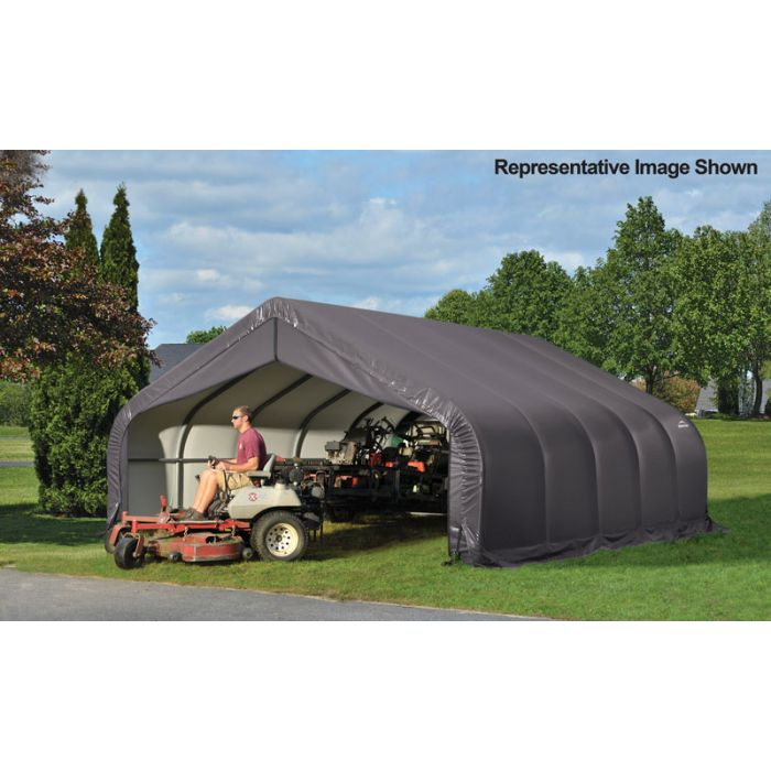 Shelter Logic 18x32x9 Peak Garage - 80543