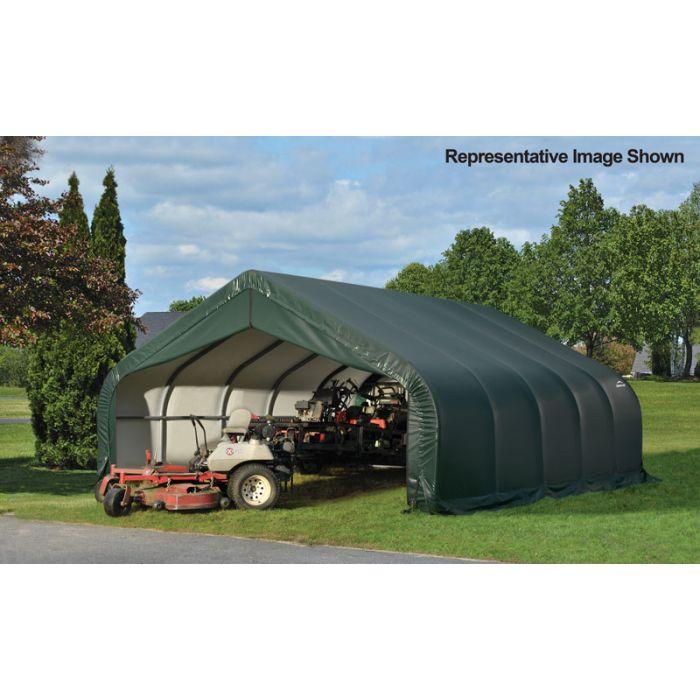 Shelter Logic 18x36x9 Peak Garage - 80012