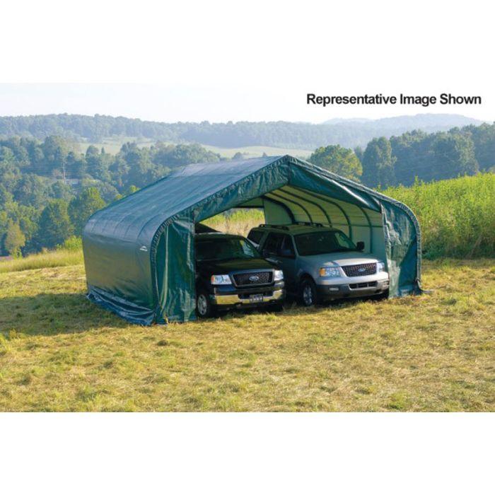 Shelter Logic 22x20x12 Peak Garage 82043-4