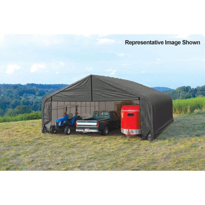 Shelter Logic 30x36x20 Peak Garage - 86078