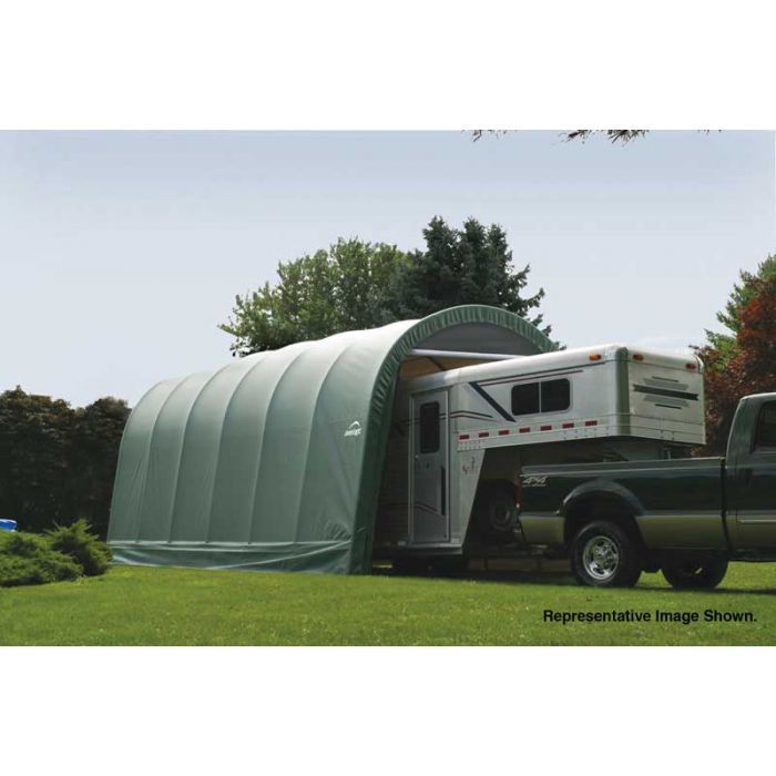 Shelter Logic 14x28x12 Round Top Garage 95333-4
