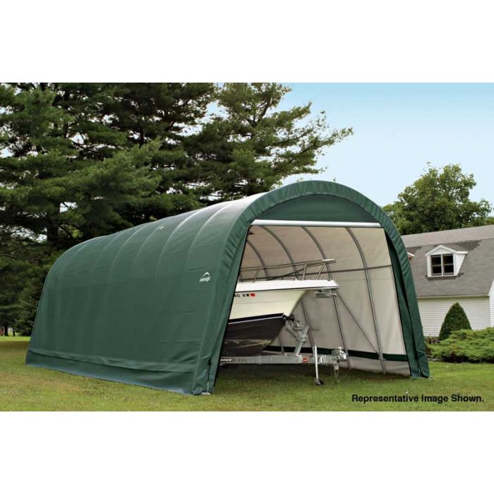 Shelter Logic 14x24x12 Round Top Garage 95360-1
