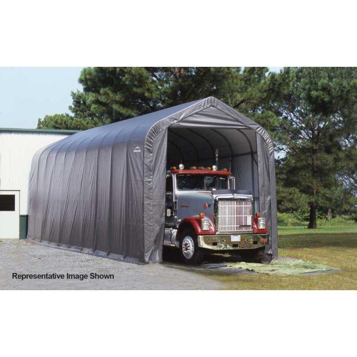 Shelter Logic 14x32x12 Peak Garage - 75432