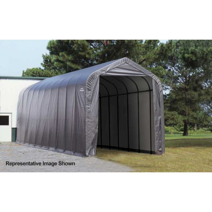 Shelter Logic 14x36x12 Peak Garage - 75532