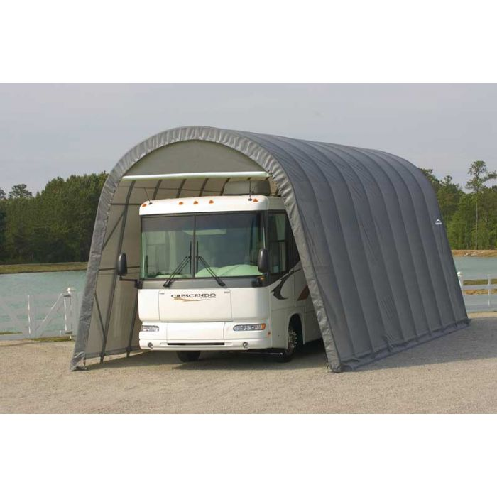 Shelter Logic 14x32x12 Round Top Garage - 95433