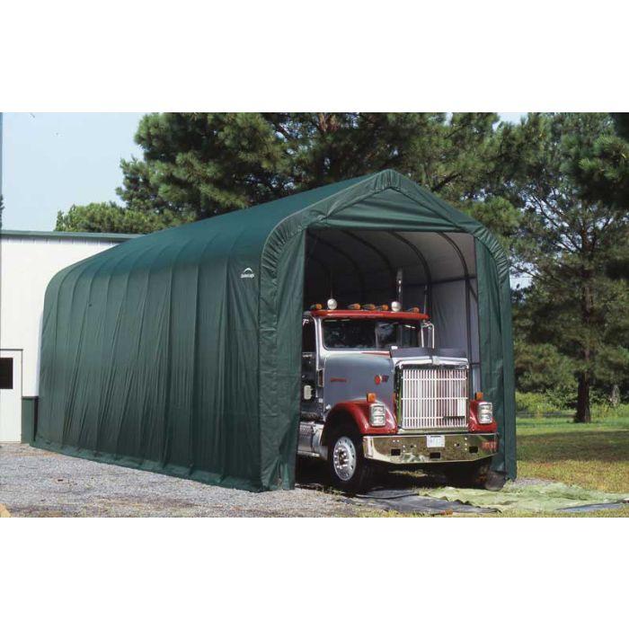Shelter Logic 14x40x16 Peak Garage 95843-4