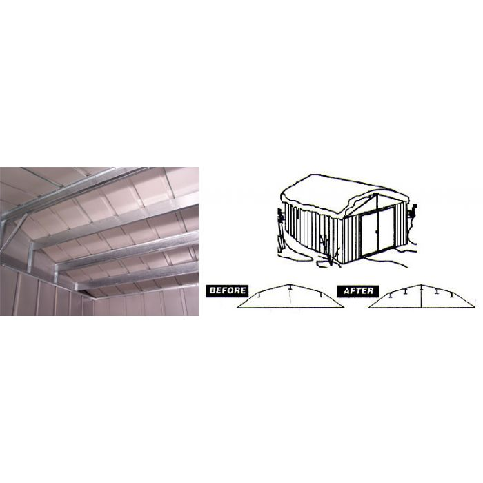 Arrow RBK1014 Roof Strengthening Kit - 10'x13' and 10'x14' sheds