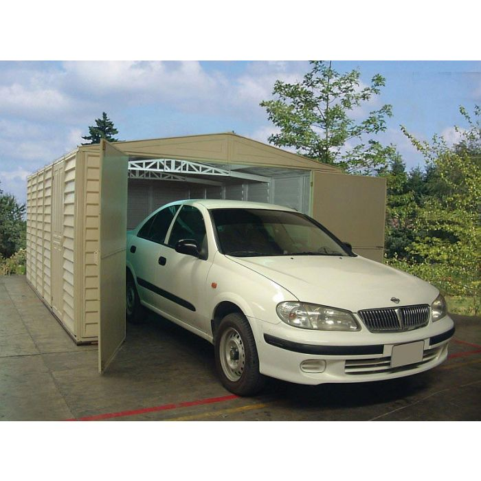 duramax vinyl garage 10x21