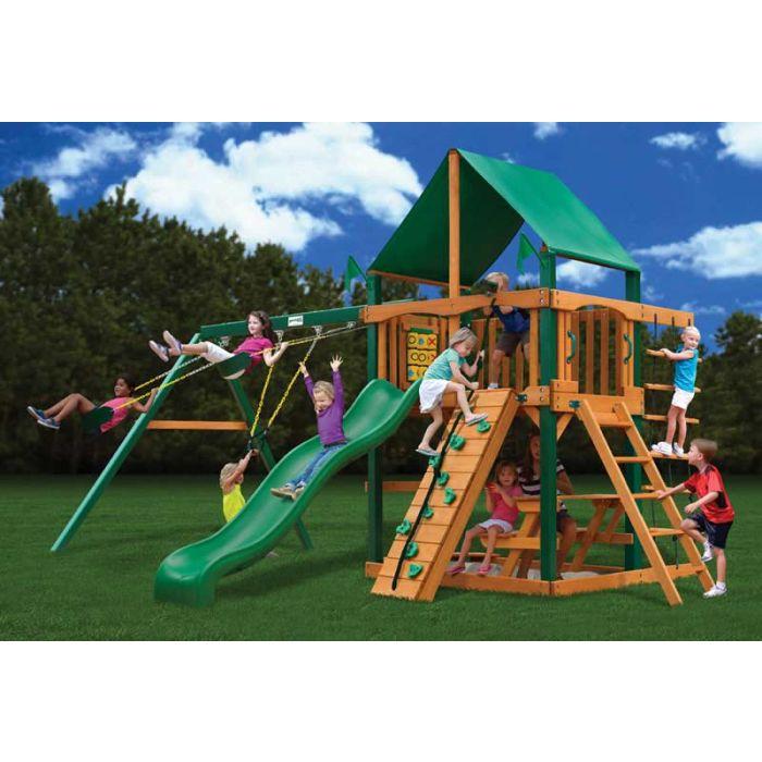 Gorilla Chateau ii Deluxe Cedar Swing Set