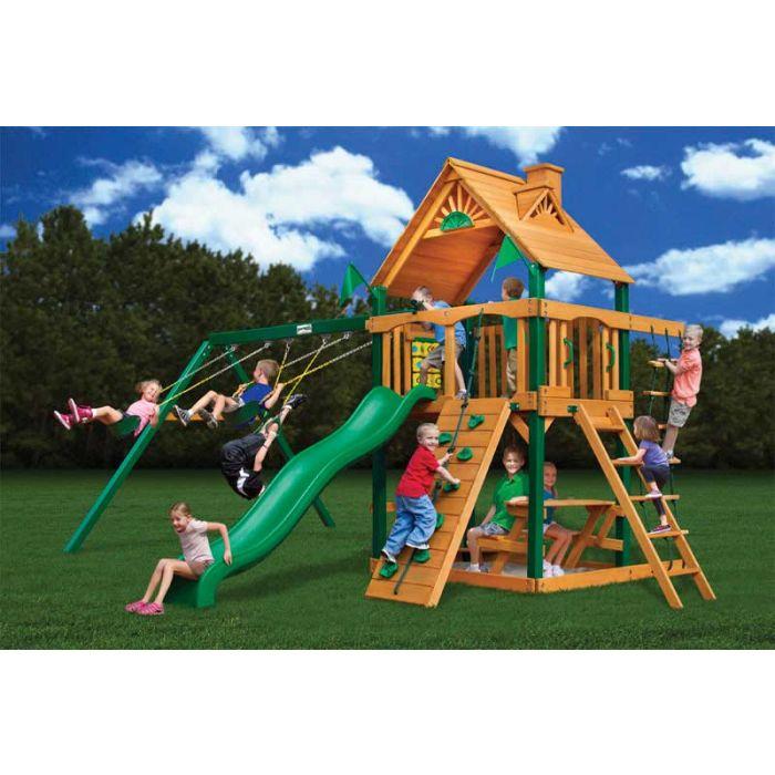 Gorilla Chateau ii Cedar Swing Set