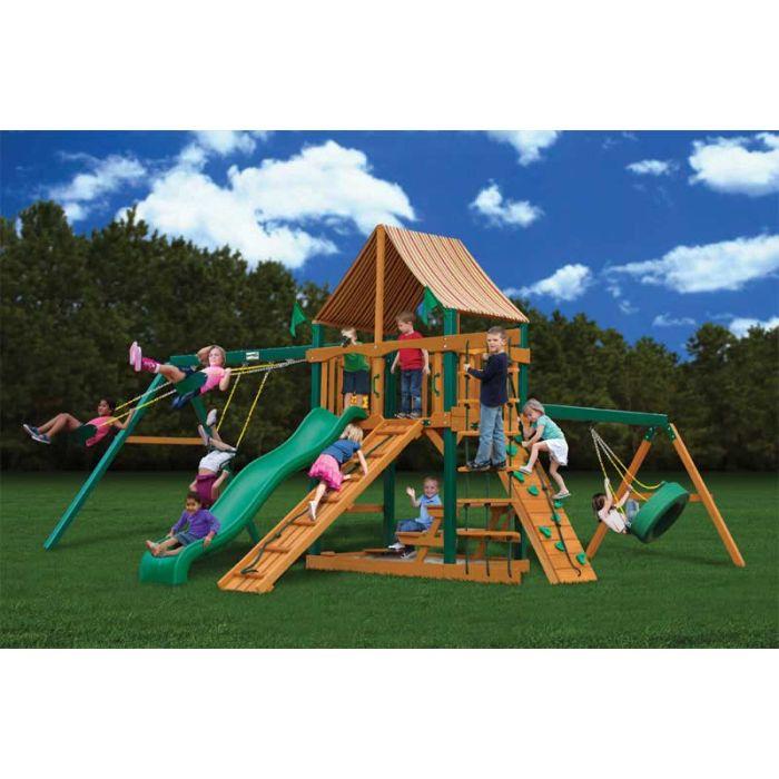 Gorilla Frontier Supreme WG Cedar Swing Set