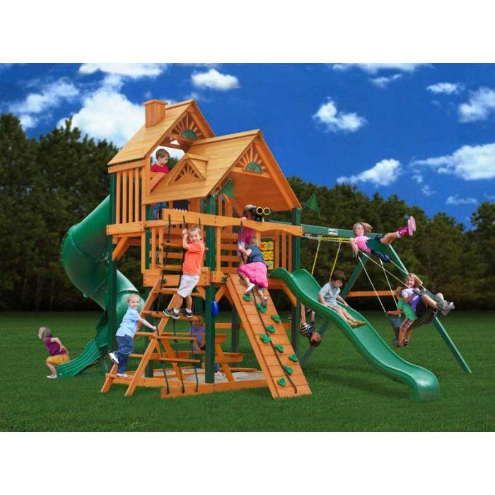 Gorilla Great Skype 1 Cedar Swing Set
