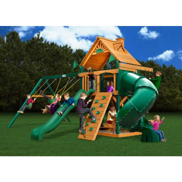 Gorilla Mountaineer  Cedar Swing Set