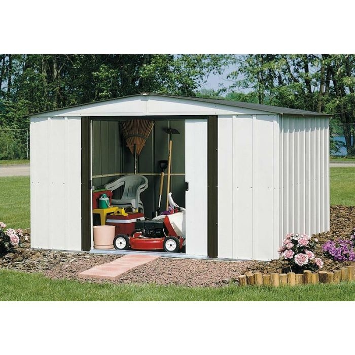 Arrow Newburgh 8'x6' Metal Shed