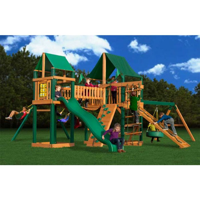 Gorilla Pioneer Peak supreme CG Cedar Swing Set