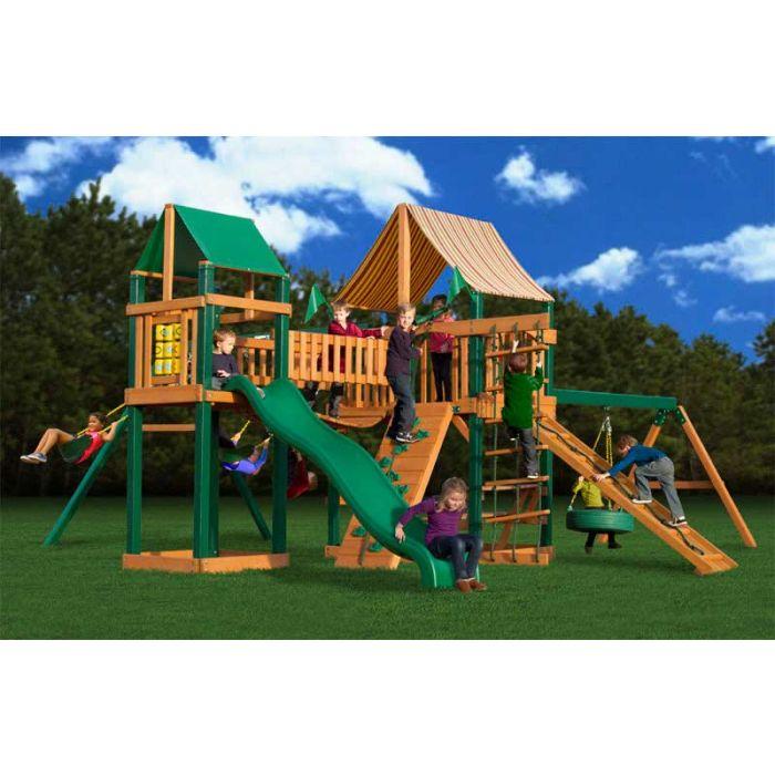 Gorilla Pioneer Peak Supreme WG Cedar Swing Set