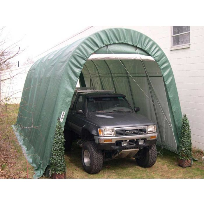 Rhino 14x30x12 Round Top Garage