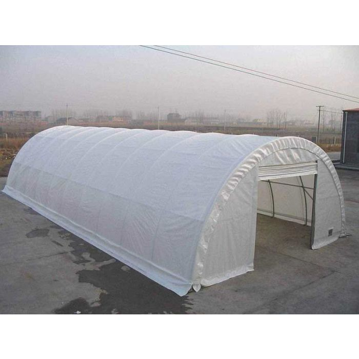 Rhino 30x65x15 Big Bare Commercial Round Shelter