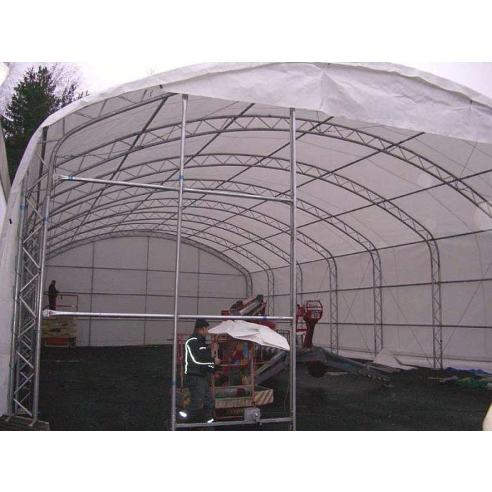 Rhino 40x60x18 Domed Truss Building