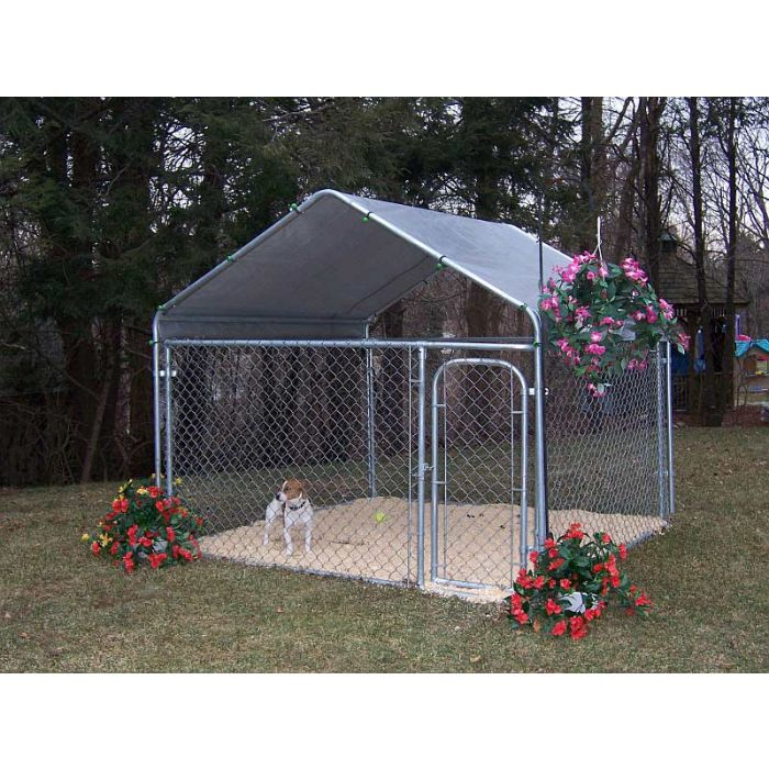 "Rhino 7'6""x7'6""x4' Dog Enclosure"