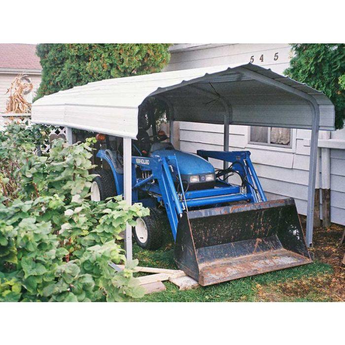 Rhino 7 x 10 x 6 Steel Carport