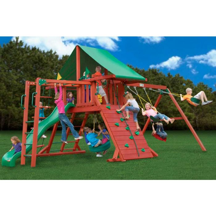 Gorilla Sun Valley ii Cedar Swing Set