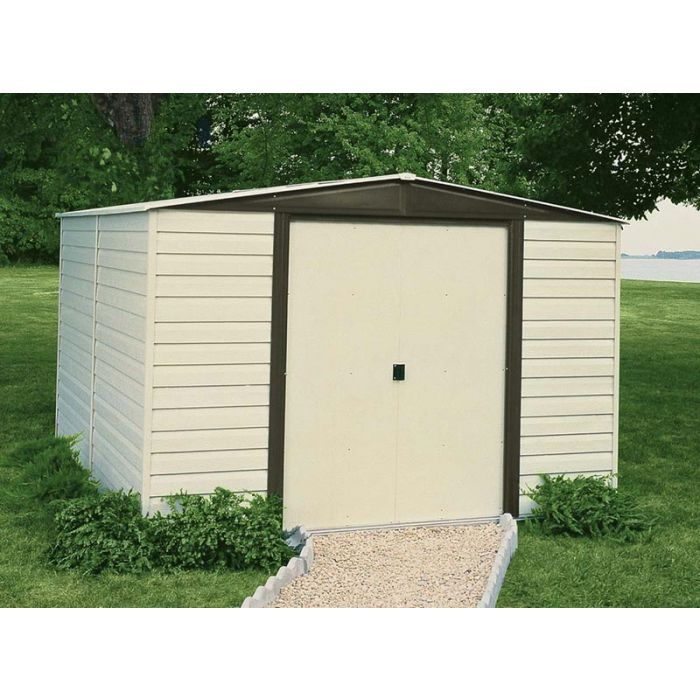 Arrow Dallas 10'x8' Vinyl Coated Metal Shed