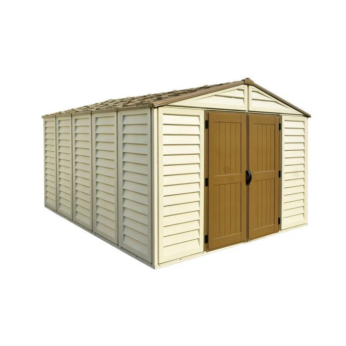 woodbridge plus 10x13 vinyl shed - storage sheds direct